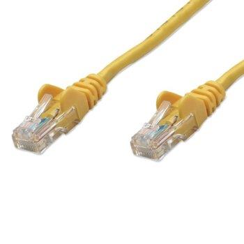 Пач кабел Intellinet 342360, UTP, cat.6, 2m, жълт image