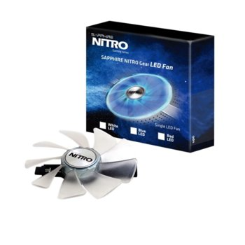Sapphire NITRO Gear LED FAN White 4N001-03-20G product