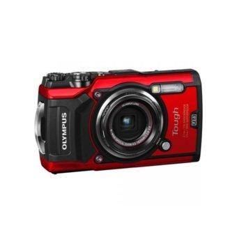 "Olympus TG-5 Tough (червен) в комплект с Olympus CHS-09 Floating Strap, 4x оптично увеличение, 12 Mpix, 3,0"" (7.62 cm) дисплей, SD/SDHC/SDXC слот, USB, Micro HDMI image"