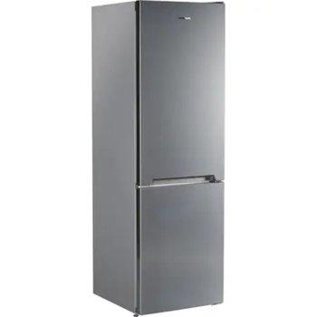 Хладилник с фризер Heinner HC-V336XE++, Е, 336 л. общ обем, свободностоящ, 242 kWh годишно, LED светлина, регулируем термостат, контрол на влажността, сребрист image