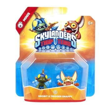 Фигура Skylanders Trap Team - Drobit and Trigger Snappy, за PS3/PS4, Wii U, XBOX 360/XBOX ONE, PC image