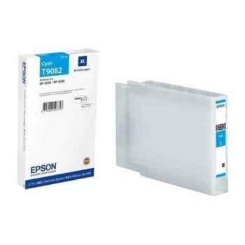 Глава за Epson WorkForce Pro WF-6xxx - Cyan - P№ C13T908240 - Заб.: 4 000k, 39 ml. image