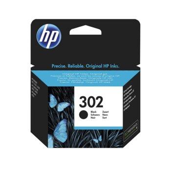ГЛАВА HEWLETT PACKARD HP DeskJet 1110 Printer/2130 All-in-One/3630 All-in-One/HP ENVY 4520 All-in-One Printer/OfficeJet 3830/4650 All-in-One Printers - Black - (302) - P№ F6U66AE - Заб.: 190 брой копия image