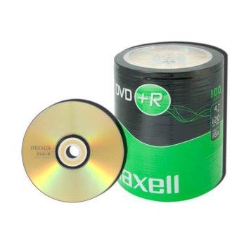 Оптичен носител DVD+R 4.7GB, Maxell, 100 бр. image