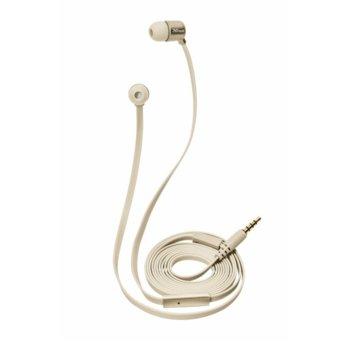 Слушалки TRUST Duga In-Ear Headphones, микрофон, златисти image