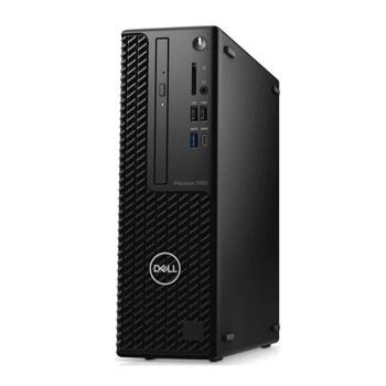 Настолен компютър Dell Precision 3450 SFF (N207P3450SFFEMEA_VI), осемядрен Comet Lake Intel Core i7-11700 2.9/4.9 GHz, NVIDIA Quadro P620 2GB LP, 16GB DDR4, 512GB SSD, 1x USB 3.2 Type-C, Windows 10 Pro image