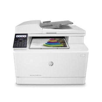Мултифункционално лазерно устройство HP Color LaserJet Pro MFP M183fw, цветен принтер/копир/скенер/факс, 600 X 600, 16 стр/мин, LAN, Wi-Fi, USB, A4 image