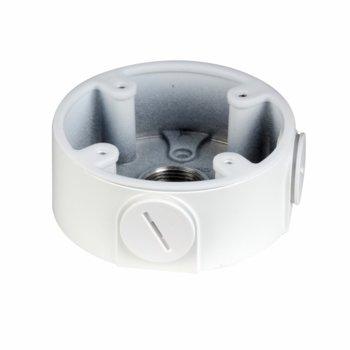 Разпределителна кутия водоустойчива Dahua PFA13A-E, алуминий, 96.7mm x 37.2mm, до 3кг товар, за външен монтаж, бяла image