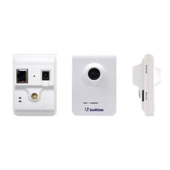 "IP камера GeoVision GV-CB120, насочена ""bullet"" камера, 1.3MP (1280 x 1024@30fps), 2.8mm обектив, H.264 и MJPEG, PoE, аудио image"