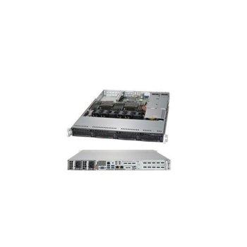 Сървър Supermicro AS-6019P-MT-OTO-13, осемядрен Cascade Lake Intel Xeon Silver 4208 2.1/3.2 GHz, 16GB DDR4, без твърд диск, 2x 1GbE, без ОС, 500W PSU image