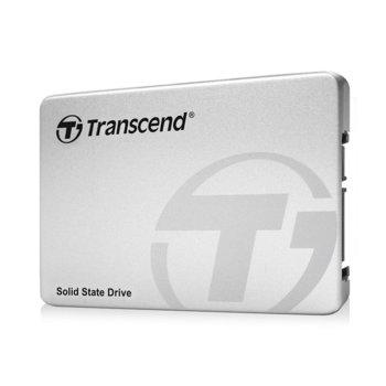"""Памет SSD 128GB, Transcend SSD370, SATA 6Gb/s, 2.5"""" (6.35 cm), скорост на четене 570MB/s, скорост на запис 470MB/s image"""