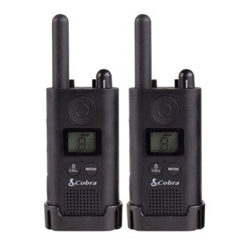 Радиостанции Cobra PU500, 16 канала, до 8 km обхат, черни image
