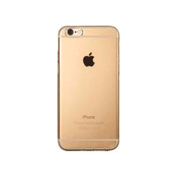 Калъф за iPhone 7 Plus, протектор, термополиуретанов, Remax Crystal, златист image