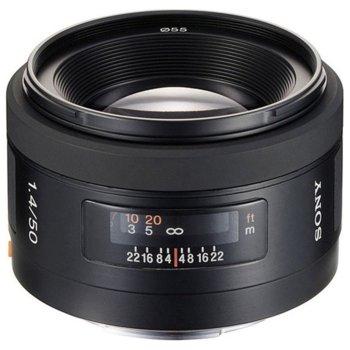 Обектив Sony SAL-50F14, 50mm, f/1.4, DSLR image