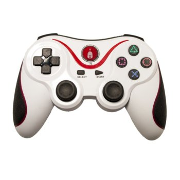 Геймпад Spartan Gear Six-Axis, безжичен, Bluetooth, за PS3, бял image