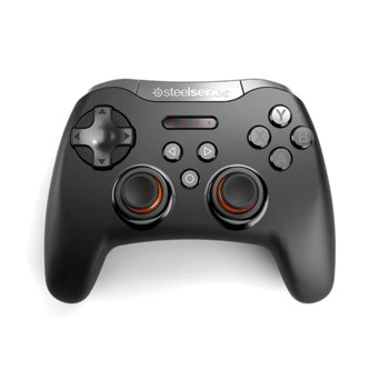 Геймпад SteelSeries Stratus XL, безжичен, Bluetooth, PC, черен image
