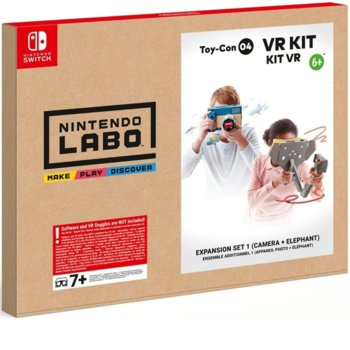 Nintendo LABO - VR Kit Expansion Set 1 Camera + Elephant, за Nintendo Switch image
