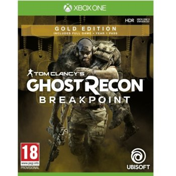 Игра за конзола Tom Clancy's Ghost Recon Breakpoint Gold Edition, за Xbox One image