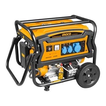 Бензинов генератор INGCO GE65006, 6.5KW, 25л резервоар, въздушно охлаждане image