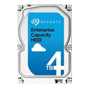 "Твърд диск 4TB Seagate Enterprise V.5 , ST4000NM0025, SAS 12Gb/s, 7200 rpm, 128 MB кеш, 3.5"" (8.89cm) image"