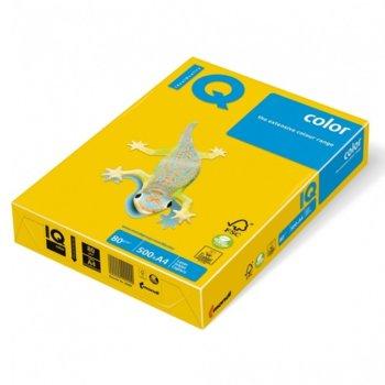 Хартия Mondi SY40, A4, 80 g/m2, 500 листа, жълт image