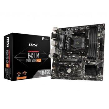 MSI B450M PRO-VDH MAX product