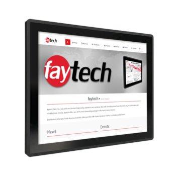 """Индустриален монитор Faytech 1010501888 FT19TMBCAPOB, 19"""" (48.26 cm) SXGA Touchscreen, HDMI, DVI-D, VGA image"""