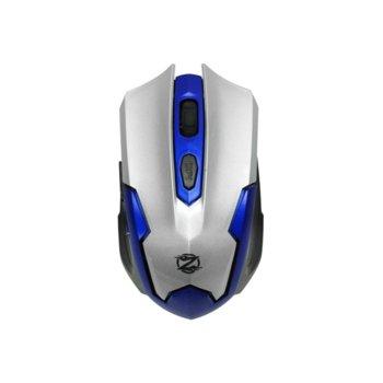 Мишка , ZornWee W130 , оптична 1600DPI , безжична , usb, сребриста image