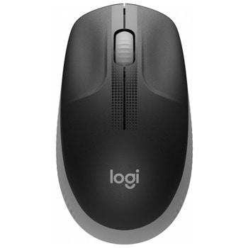 Мишка Logitech M190, оптична (1000dpi), безжична, USB, сива image