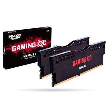 Памет 16GB (2x8GB) DDR4, 3000MHz, Inno3D GAMING OC RGX2-16G3000, 1.35V image