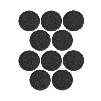 Дунапренови наушници за Jabra Evolve 20-65, 10 бр image