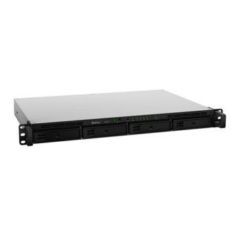 "Разширителен блок Synology Expansion Unit RX418 EW, 4x bay 2.5""/3.5"" SATA HDD/SSD, 1x eSATA, съвместим с RS818(RP)+/RS815(RP)+/RS816/RS815 image"