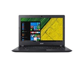 "Лаптоп Acer A314-31-P3JM (NX.GNSEX.008), четириядрен Apollo Lake Intel Pentium N4200 1.10/2.5GHz, 14"" (35.56 cm) LCD HD LED дисплей, 4GB DDR3L, 256GB SSD, 1x USB 3.0, Windows 10 Home, 1.80kg image"