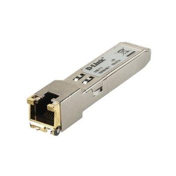 SFP модул D-Link DGS-712, 10/100/1000 BASE-T, до 100 m. image