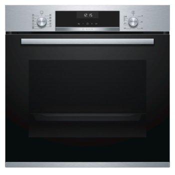 Bosch HBA5577S0, клас A, 71л. обем, 3D горещ въздух, AutoPilot 10, LCD дисплей, EcoClean самопочистващо се покритие, инокс image