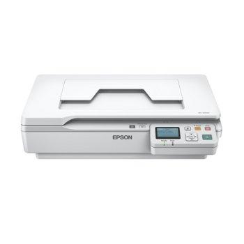 Скенер Epson WorkForce DS-5500N Scanner, 1200x1200 dpi, A4, двустранно сканиране, USB, Lan image