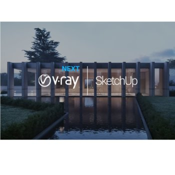 Софтуер Chasogroup V-Ray Next за SketchUp Workstation, 1 потребител, Perpetual License image