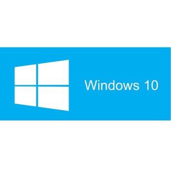 Операционна система Microsoft Windows 10 Pro FPP, 32/64-bit Български, International, USB, RS image