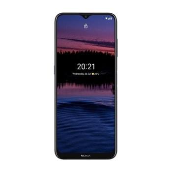 "Смартфон Nokia G10 (син), поддържа 2 sim карти, 6.52"" (16.56 cm) IPS дисплей, осемядрен Helio G25 2.0 GHz, 3GB RAM, 32GB Flash памет (+ microSD слот), 13.0 + 2.0 + 2.0 & 8.0 Mpix камера, Android, 194 g image"