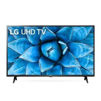 "Телевизор LG 43UN73003LC, 43"" (109.22 cm) 4K/UHD HDR Smart TV, DVB-T2/C/S2, Wi-Fi, LAN, Bluetooth, 3x HDMI, 2x USB image"