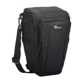 Чанта за фотоапарат Lowepro Toploader Zoom 55 AW II за DSLR фотоапарати, черна image