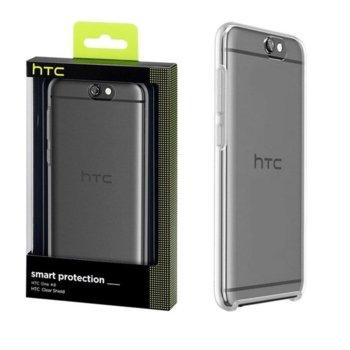 Калъф за HTC One A9, страничен протектор с гръб, силиконов, HTC HC C1230 Clear Shield, прозрачен image