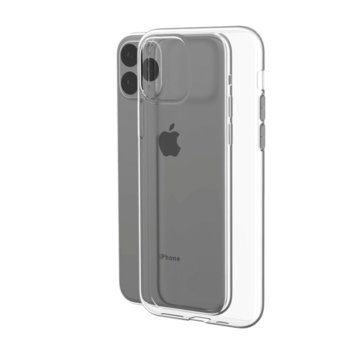 Калъф за Apple iPhone 11, силиконов, Devia Naked, прозрачен image