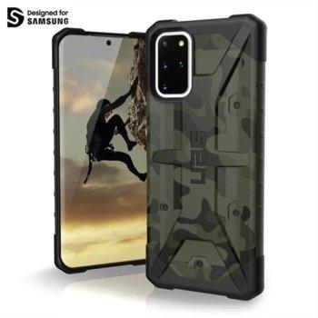 Калъф за Samsung Galaxy S20 Plus, хибриден, Urban Armor Pathfinder SE Camo 211987117271, удароустойчив, камуфлаж image