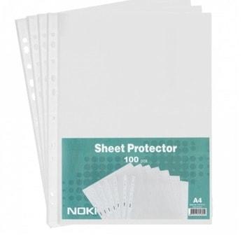 Джоб Exxo Litte, за документи с формат до А4, дебелина 30 микрона, прозрачен, матиран, продава се в опаковка от 100бр. image