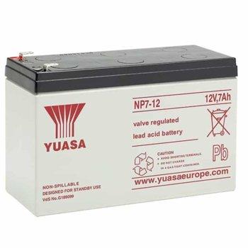Акумулаторна батерия Yuasa NP7-12L, 12V, 7Ah, VRLA  image