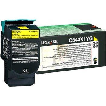 КАСЕТА ЗА LEXMARK C544/X544 - Yellow - P№ C544X1YG product