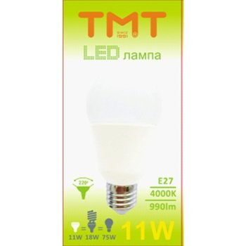LED крушка Tmt, E27, 11W, 990 lm, 4000k image
