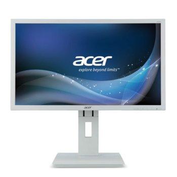 """Монитор Acer B246HLwmdr (UM.FB6EE.040), 24"""" (60.96 cm) TN панел, Full HD, 5ms, 100 000 000:1, 250cd/m2, DVI, VGA image"""