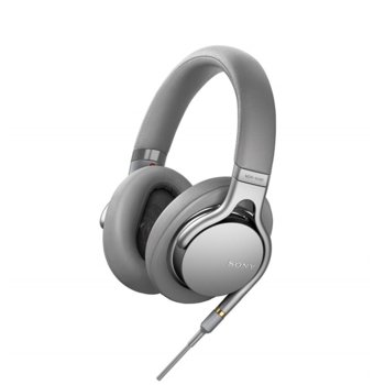 Слушалки Sony MDR-1AM2, микрофон, 1.2m кабел, сребристи image